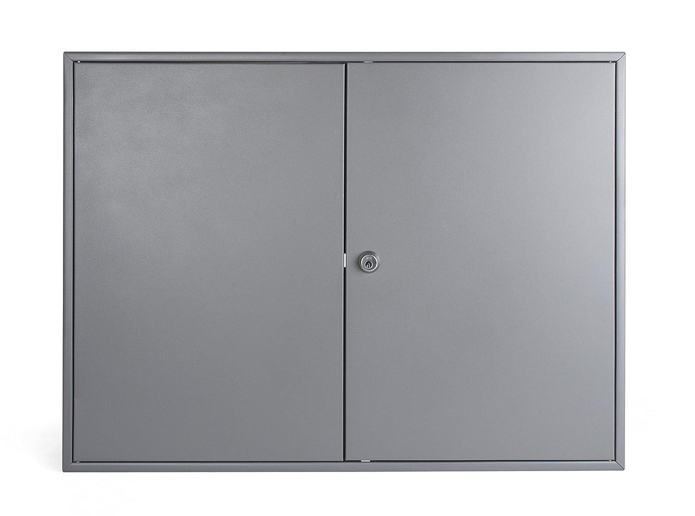 Pavo 8032129 Placard /à cl/és pour 300 cl/és Gris fonc/é