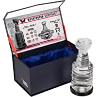 Washington Capitals 2018 Stanley Cup Champions Crystal Stanley Cup Trophy… photo