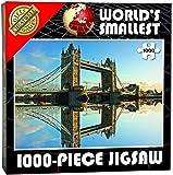Cheatwell Games 13954 - World's Smallest puzzle de 1000 piezas, diseño Tower Bridge