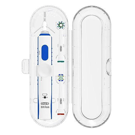 60 opinioni per Poketech casi di viaggio per Oral-B 1 manipolo e 2 pennello Premium- Trasparente