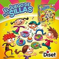 Diset- Juego de Las sillas, Multicolor (60183)