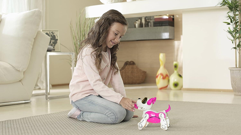 SilverLit/ /Robot Perro interactiva con reconocimiento Voz/ /54069/ /pupbo Rosa
