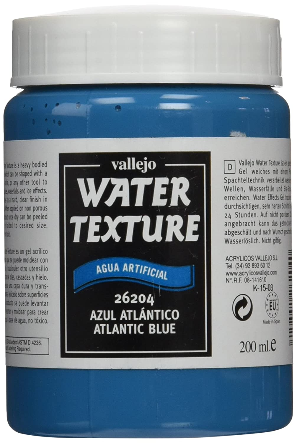 Vallejo Model Color 200 ml Water Effects - Pacific Blue