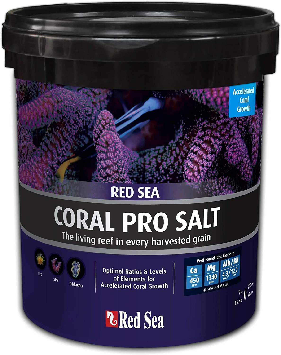 Red Sea R11220 Coral Pro - Cubo de Sal (7 kg): Amazon.es ...