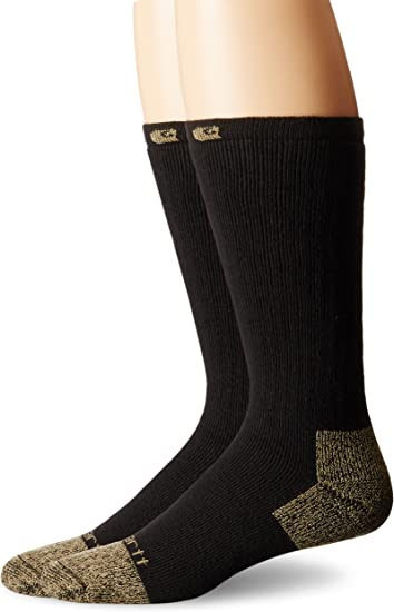 Carhartt Cushion Steel-Toe Work Boot Socks