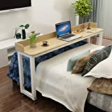 Overbed Table on Wheels Rolling Bed Table Over