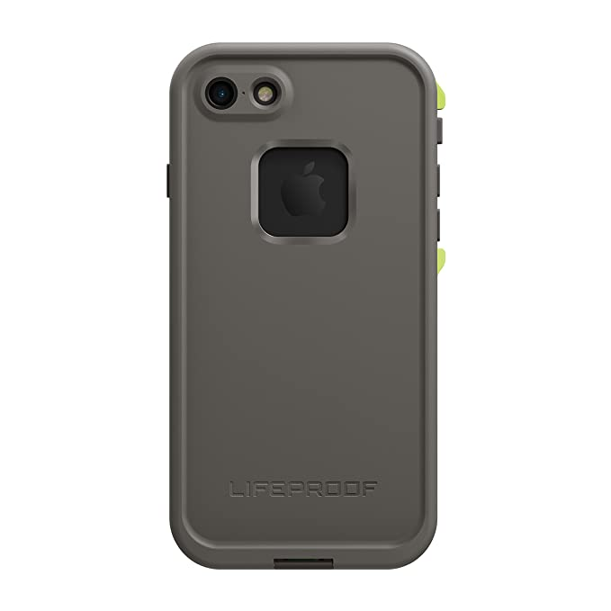 super popular 5e90d 57cec Lifeproof FRĒ SERIES Waterproof Case for iPhone 7 (ONLY) - Retail Packaging  - SECOND WIND (DARK GREY/SLATE GREY/LIME)