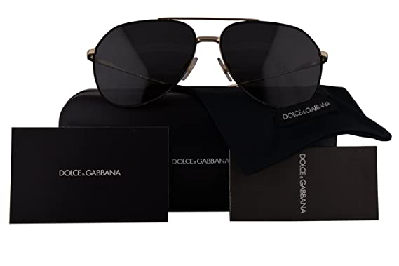 d4efcd828f14 Image Unavailable. Image not available for. Colour  Dolce   Gabbana  Authentic Sunglasses DG2166 Black ...
