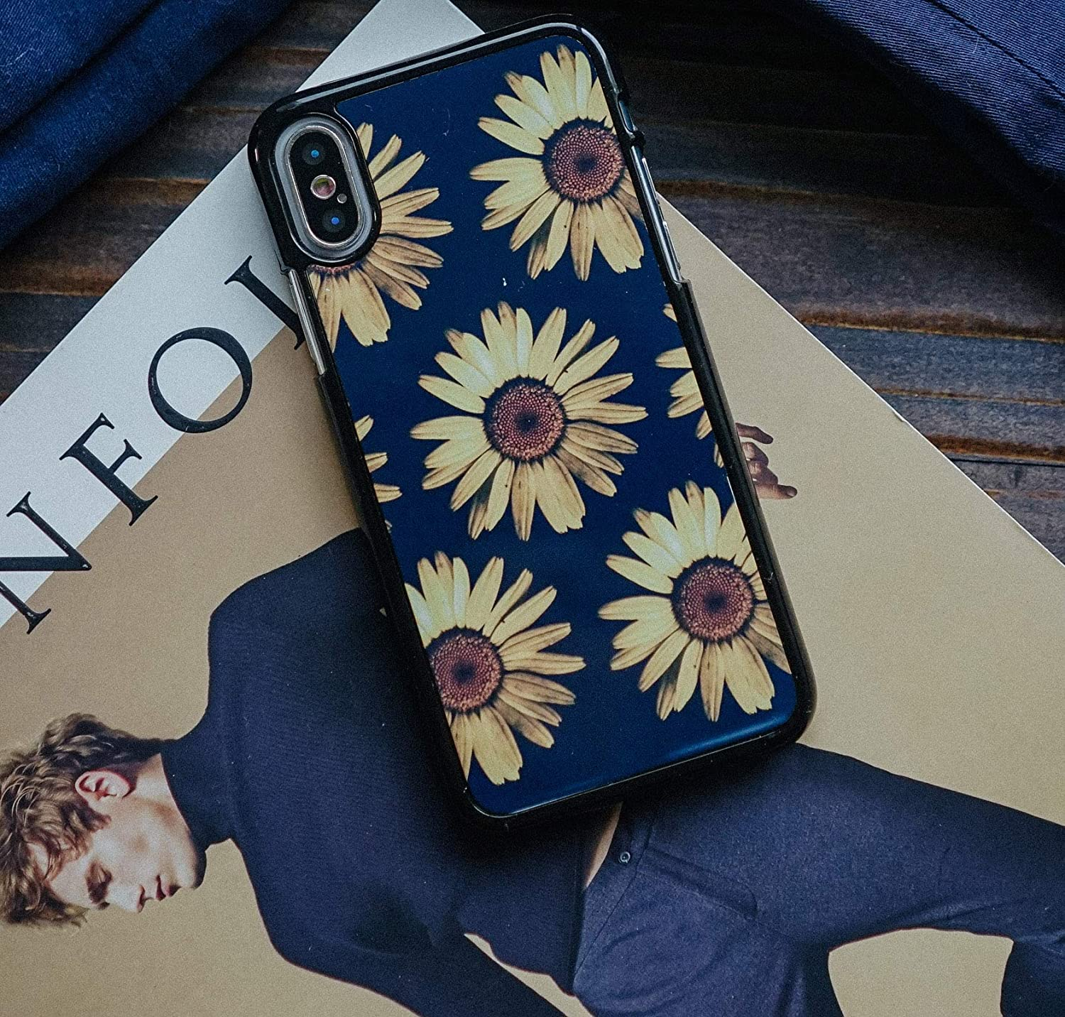 Yellow flowers iPhone X Case for iPhone 7 plus 8 plus 7 8 models Custom iPhone case Unique Fall Collection