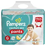 Fralda Pampers Confort Sec Pants Super, G, 72 Unidades