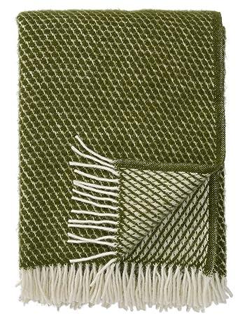 Klassisch englische Wolldecke Wollplaid Karo grau//83