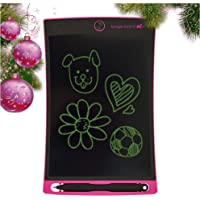 Boogie Board Jot 8.5 LCD Writing Tablet + Stylus Smart Paper for Drawing Note Taking eWriter Pink