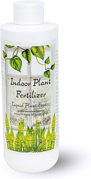 Indoor Plant Food | All-purpose House Plant Fertilizer | Liquid Common Houseplant Fertilizers for Potted Planting Soil | by Aquatic Arts