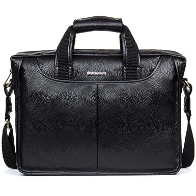 cf3aa7f10ef4 Amazon.com | DANJUE Man Business Briefcase Bag Black Nice Structure ...