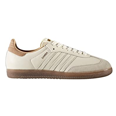adidas Originals Samba FB Beige - Chaussures Baskets basses Homme