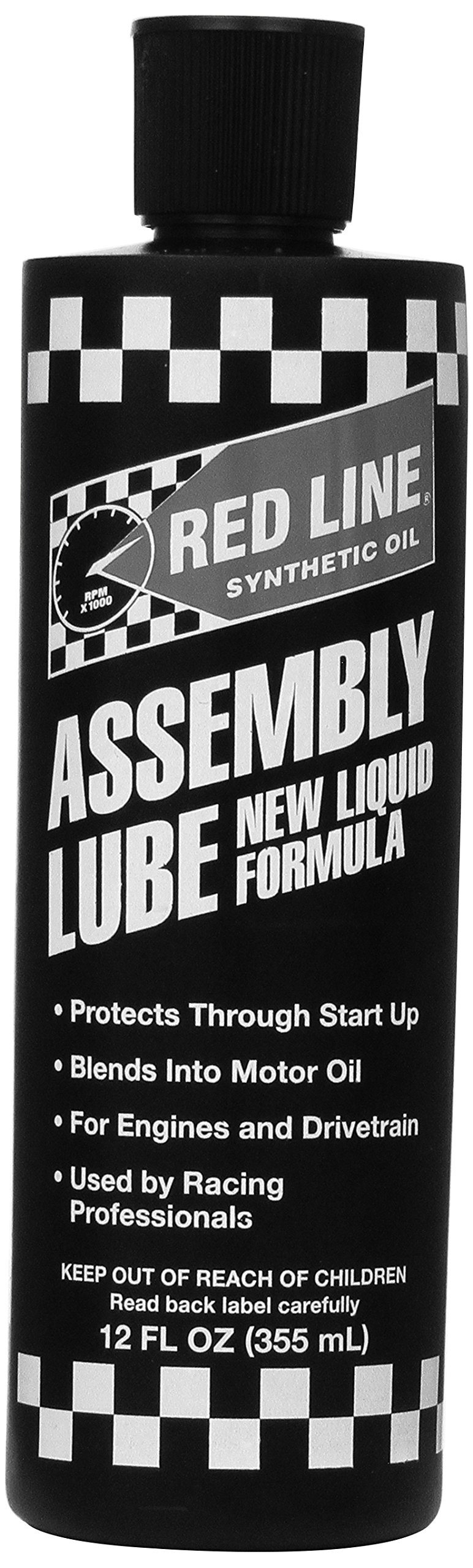 Red Line 80329 Liquid Assembly Lube - 12 oz, (Case of 6) by Red Line Oil