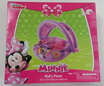 Disney Minnie Mouse Inflatable Kids Float with Optional Sun Cover Canopy  sc 1 st  Amazon.com & Amazon.com: Disney Minnie Mouse Inflatable Kids Float with ...