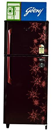 Godrej 231 L 2 Star Frost Free Double Door Refrigerator(RT Eon 231 C 2.4, Red)