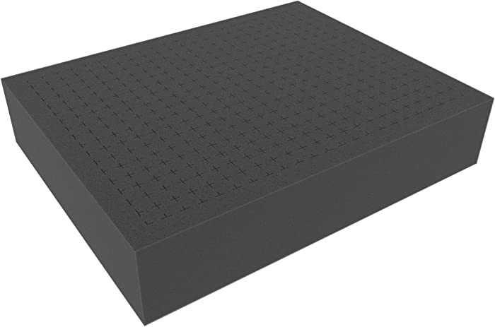 Feldherr FS070R-Bundle 70 mm (2.75 Inch) Customizable Pick Pluck Foam for All Kind of Using with Separate Bottom