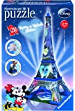Ravensburger Mickey and Minnie Eiffel Tower - 3D Puzzle (216-Piece)