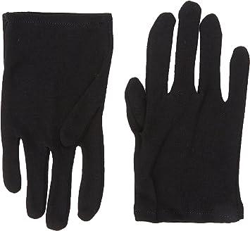 Rubies Guantes de algodón Infantiles Color Negro (Talla única): Amazon.es: Juguetes y juegos