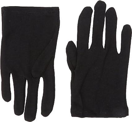 Amazon.com: Niño – Negro Guantes de algodón para disfraces ...