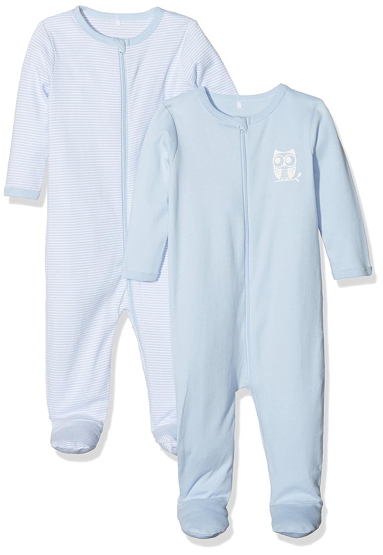 Name It Pyjama Bébé garçon (Lot de 2) Bleu (Cashmere Blue) 68 (Lot de 2) 13151607