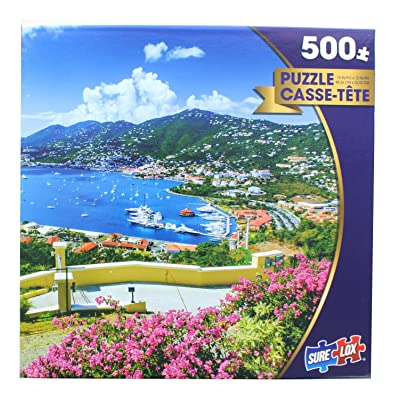 St. Thomas by Emperorcosar 500 Piece Puzzle: Toys & Games