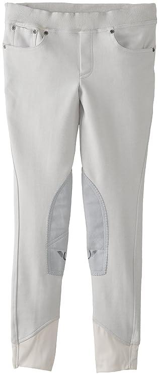 Amazon.com: TuffRider Girl s Newbury Pull-On pantalón de ...