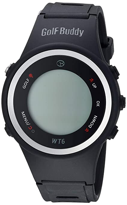 Amazon.com: GolfBuddy WT6 reloj de golf con GPS, color negro ...