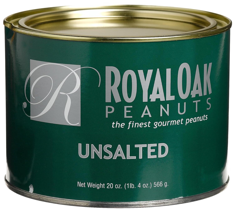 Amazon Royal Oak Gourmet Jumbo Unsalted Virginia Peanuts 20