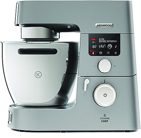 Kenwood Cooking Chef Gourmet KCC9060S Küchenmaschine (mit Kochfunktion,  Induktionskochfeld von 20, 180°C, 24 voreingestellte Programme, 6,7 l ...