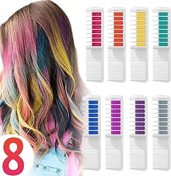 Coloration Temporaire Cheveux Craie Peigne Cheveux Teinture