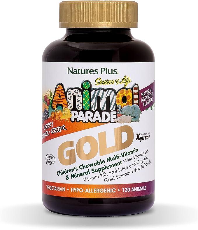 Natures Plus Animal Parade Gold 60'S