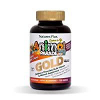 NaturesPlus Animal Parade Source of Life Gold Children's Multivitamin - Assorted...