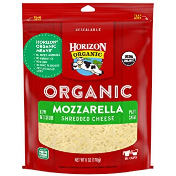 Horizon Organic Free GMOs Mozzarella Cheese
