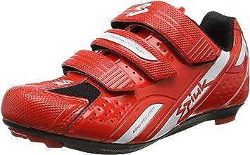 Spiuk Rodda Road - Zapatillas Unisex, Color Rojo/Blanco, Talla 46 ...