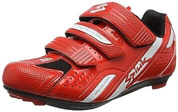 Spiuk RODDA Road Schuhe Sport-Unisex 37 rot - rot/weiß 0oxsn