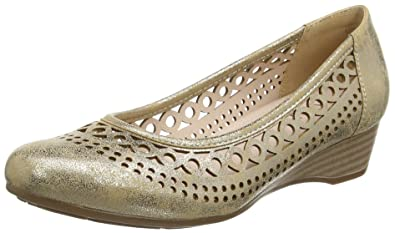 50762, Chaussures Femme - Or - Or (Gold Metallic), 41Lotus