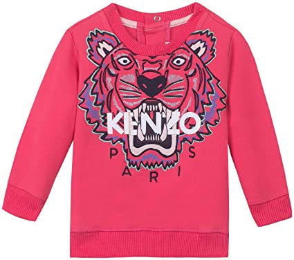 7f6afd101b20 Amazon.com  Kenzo Kids Baby Girls  Kenzo Kh Bg Tiger Head 2  Clothing