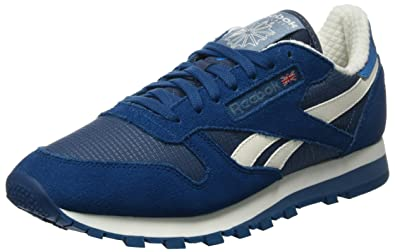 Reebok Classic Camp, Sneakers Basses Homme, Bleu (Royal Slate/Noble Blue)
