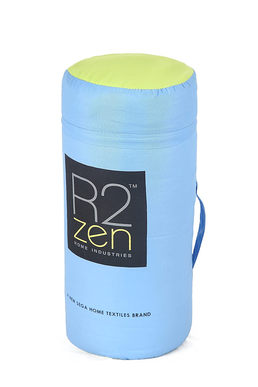 R2Zen Down Alternative Comforter Blue//Lime Full//Queen