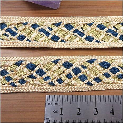 Braid Gimp Trim 25 mm wide 1 yard upholstery craft edging