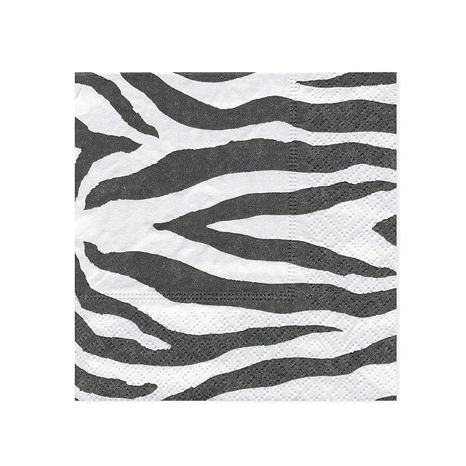 IHR motivo: Zebre e Giraffe Tovaglioli di carta 20/pezzi colore: panna
