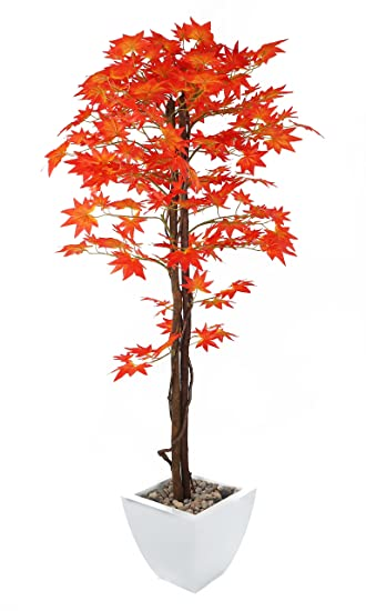 Well-known Closer2Nature Artificial 5ft Red Japanese Maple Tree - Portofino  BO93