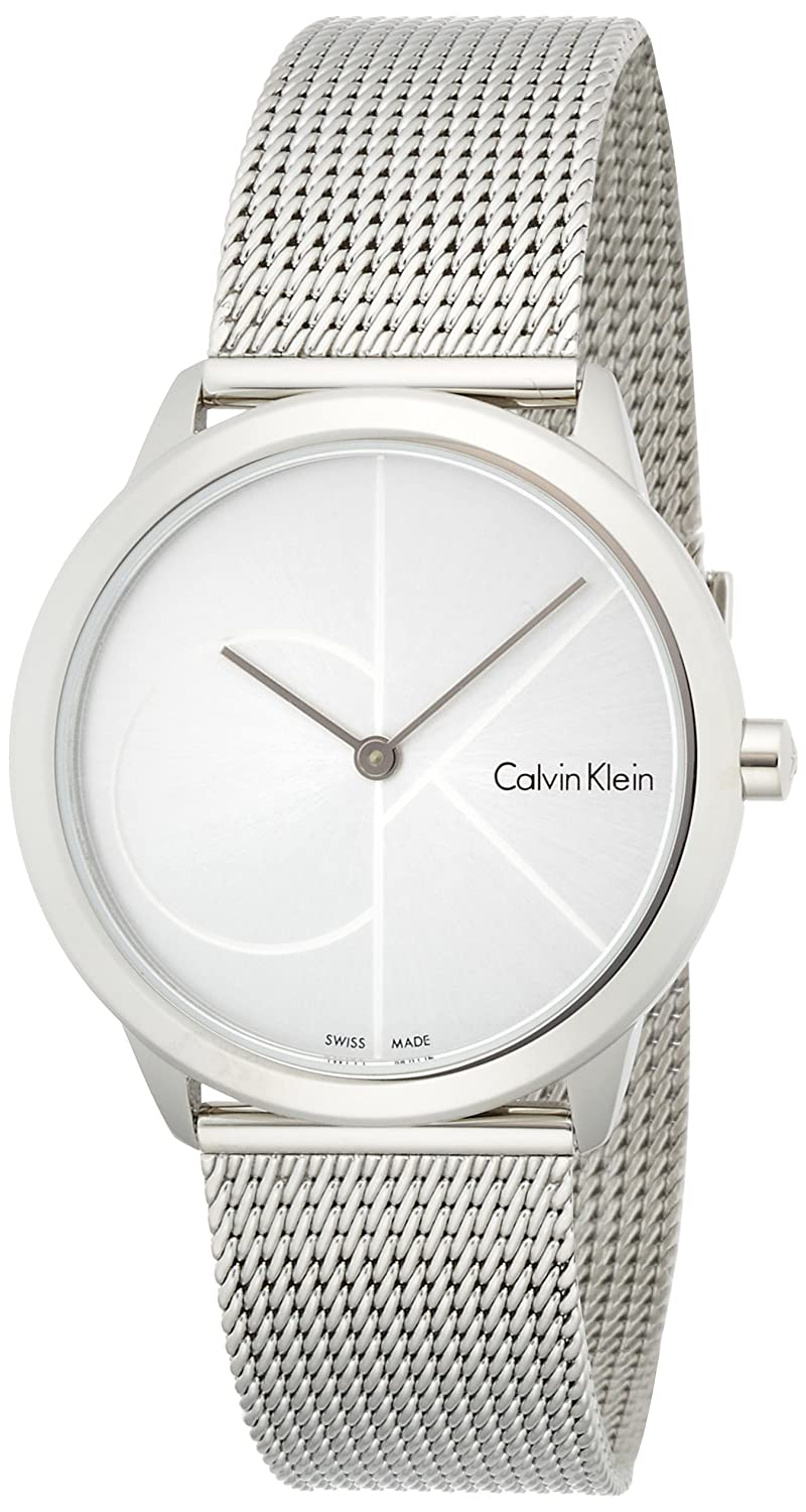 31af8fdcdb4f Amazon.com  Calvin Klein Women s Analogue Quartz Watch with Stainless Steel  Strap K3M2212Z  Watches