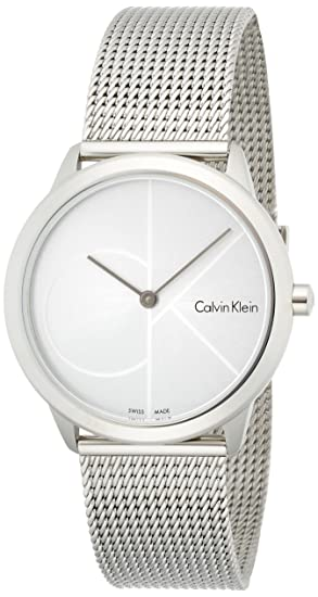 Amazon.com: Calvin Klein Womens Analogue Quartz Watch with Stainless Steel Strap K3M2212Z: Watches