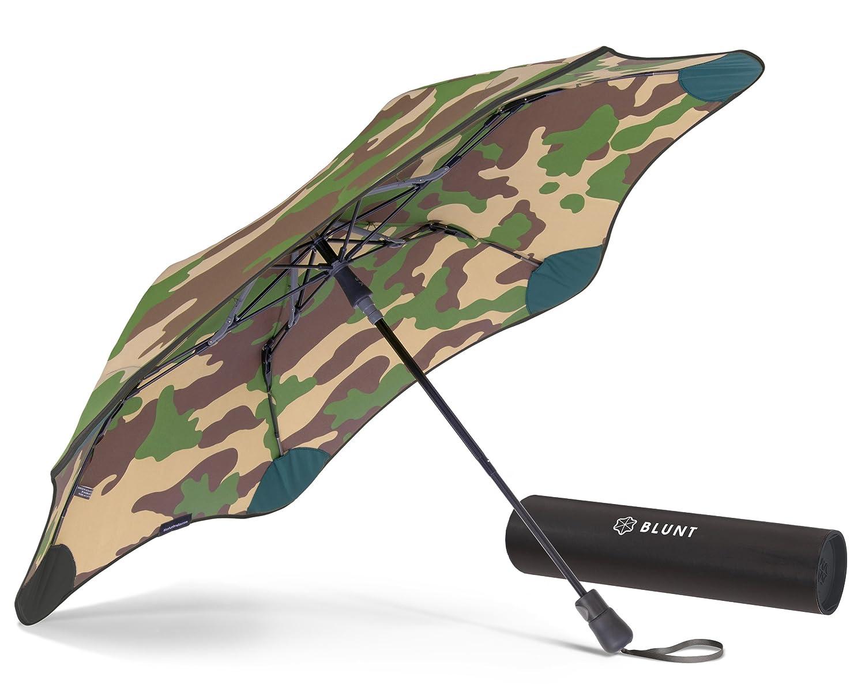 【正規輸入品】 ブラント XS メトロ (セカンド ジェネレーション) 折りたたみ傘 オートオープン カモフラージュ 6本骨 51cm グラスファイバー骨 耐風傘 B01AWJQ5MKカモフラージュ