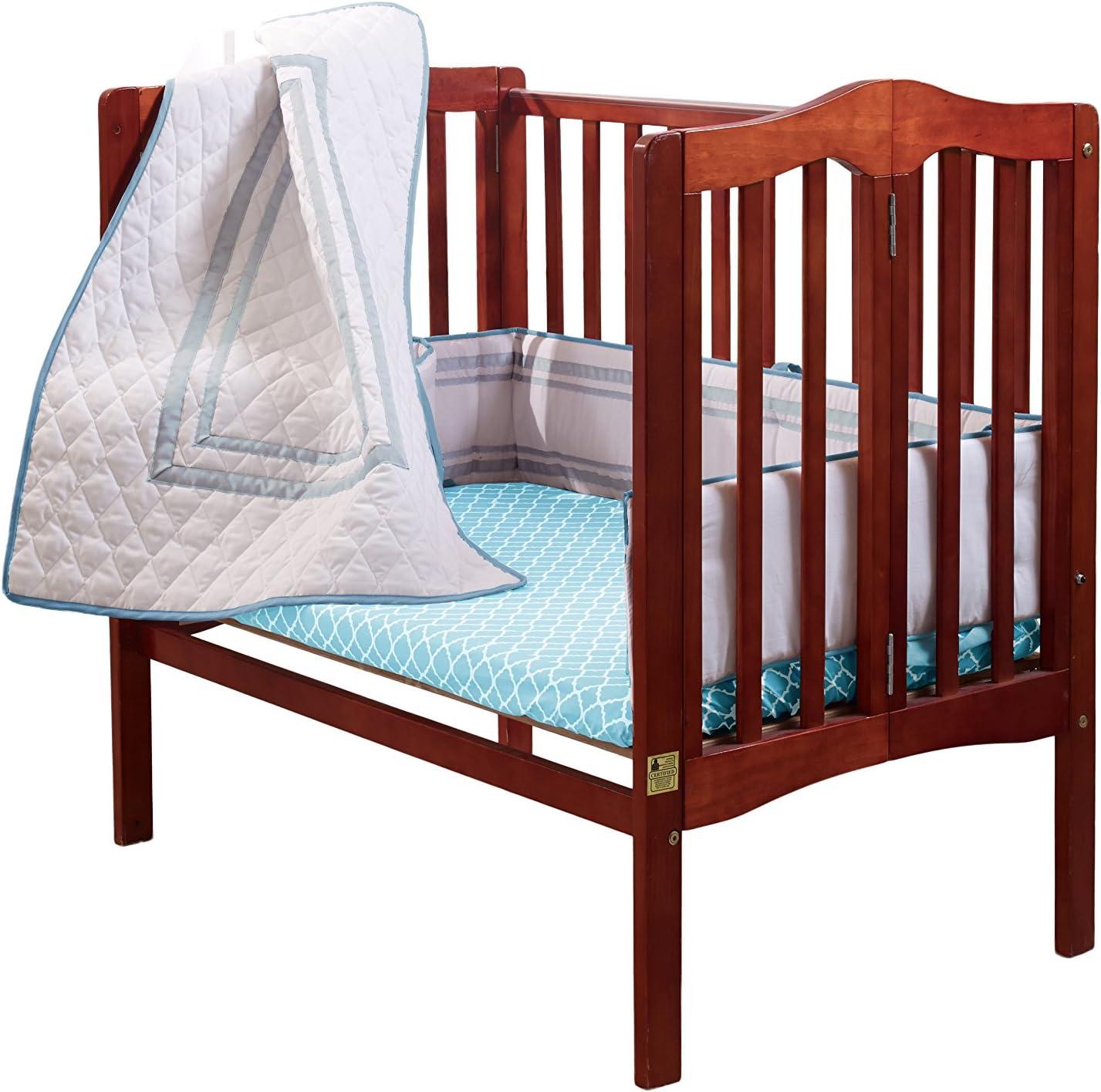 Red BabyDoll 1350pac-red Bedding Soho Mini Crib//Port-A-Crib Bedding-Set