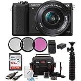 Sony Alpha a5100 Mirrorless Digital Camera w/16-50mm Lens & 64GB SD Card Bundle